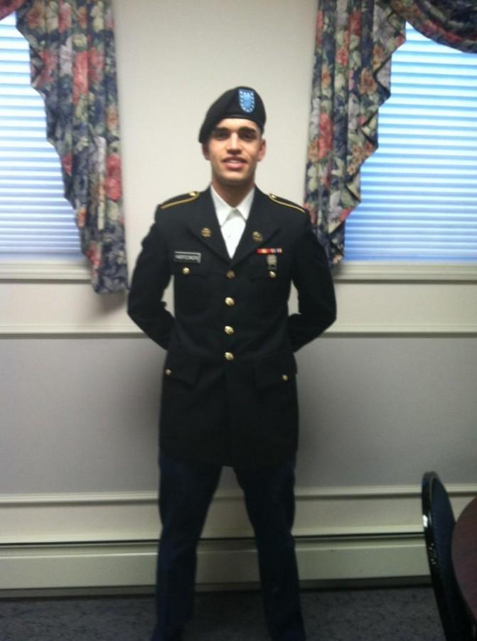 Brandon+Hofecker+Embraces+His+Dream+in+Military+Future