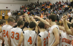 """The Varsity Basketball Team"""