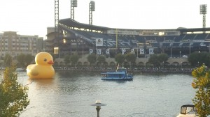 The ducky in all it's glory!