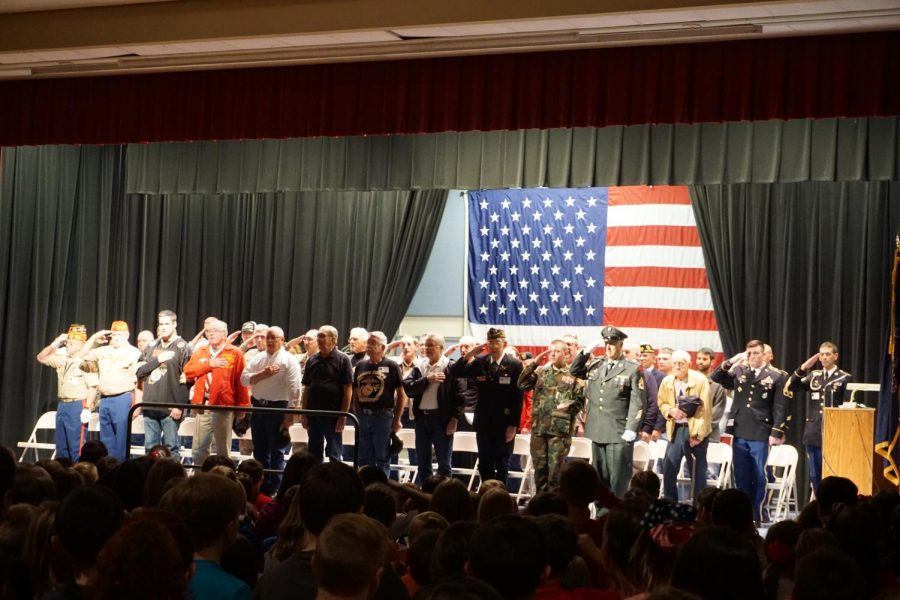 BES Veteran's Day Assembly