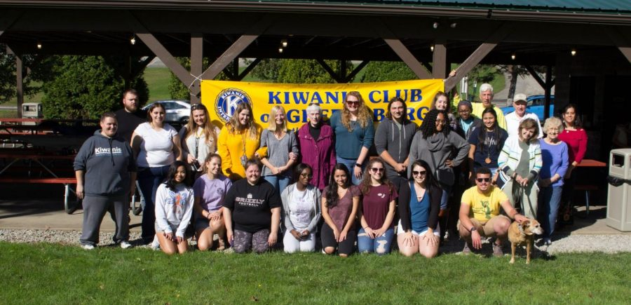 One big Kiwanis tree bears many branches