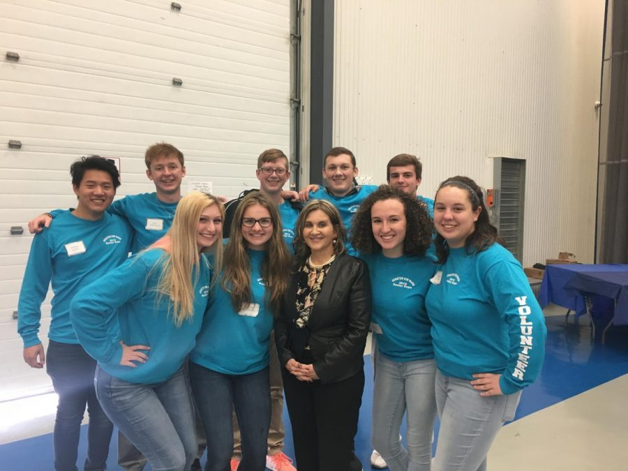 NHS Students Volunteer for Senator Ward