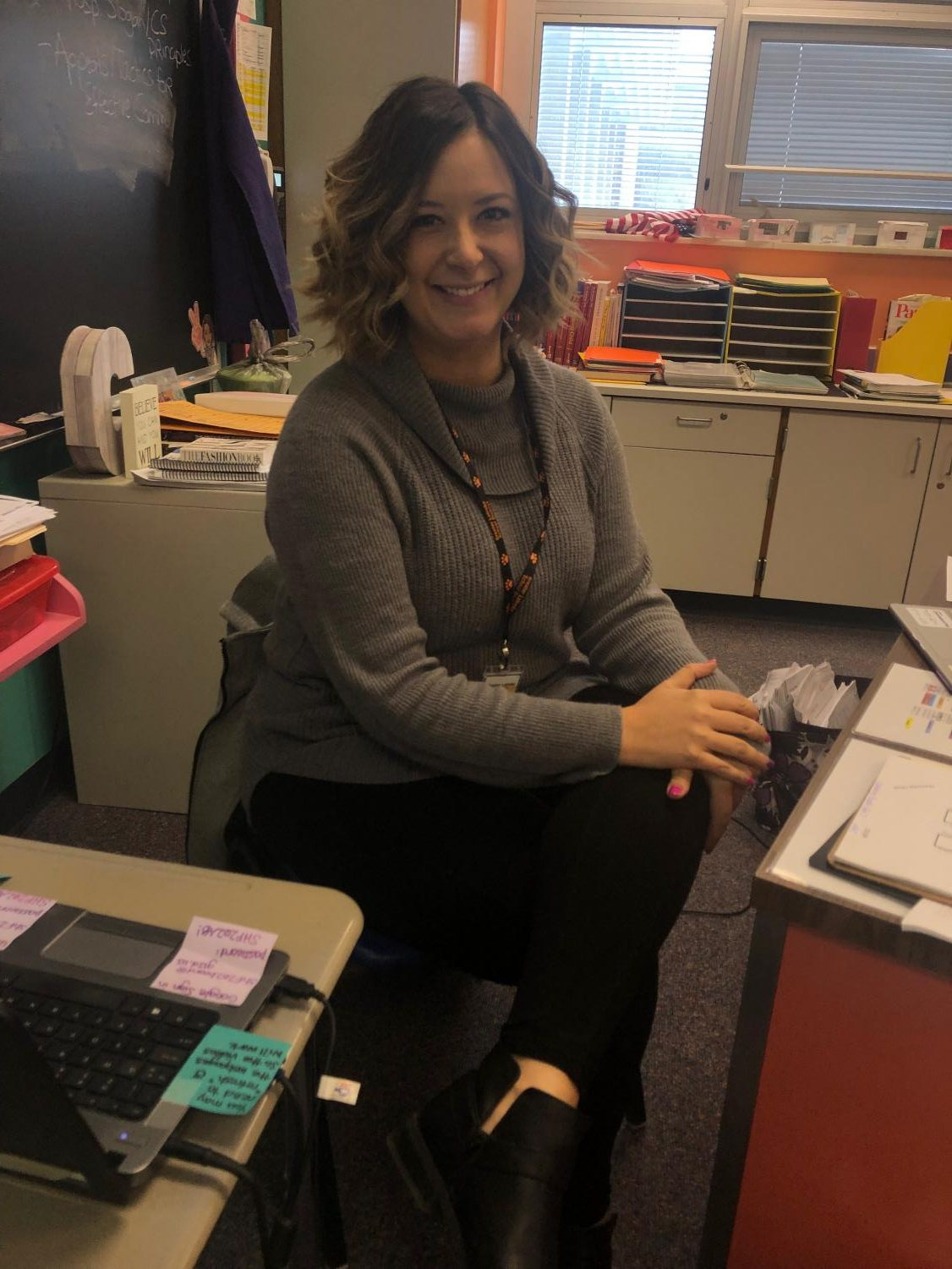 Family and Consumer Sciences teacher Mrs. Coss builds a positive environment for the students at Greater Latrobe.
