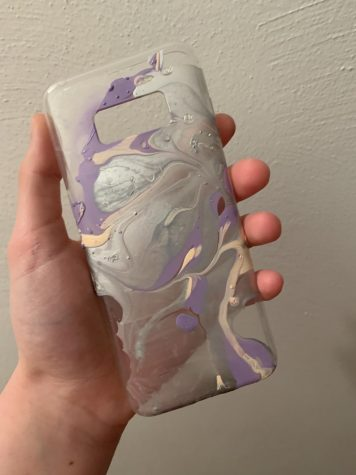 D.I.Y. Water Marble Phone Case
