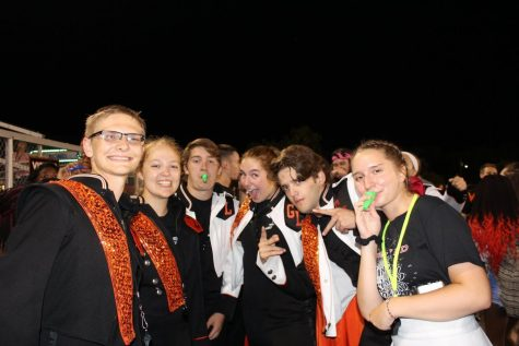 Marching Band Adds Pizzazz to Friday Night Lights