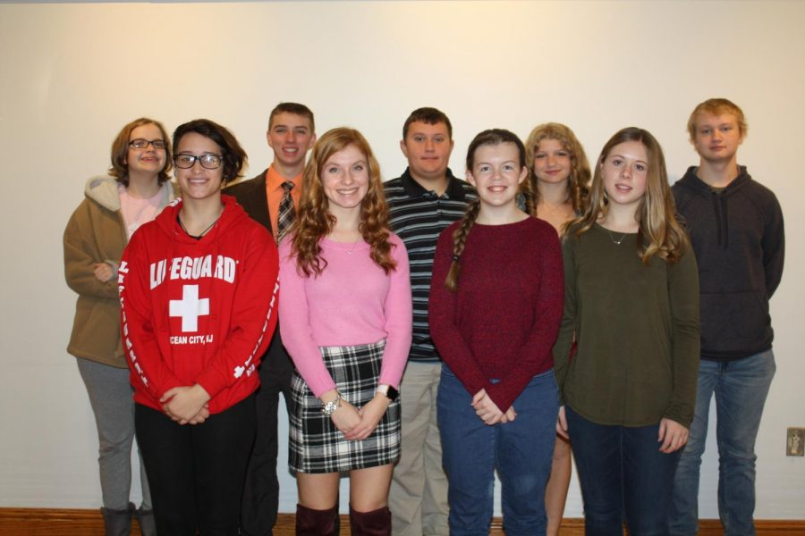 PRESS RELEASE: Greater Latrobe Honors November Champions