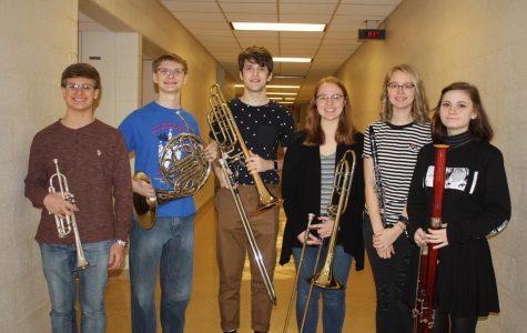 Greater Latrobe's PMEA District 1 Band East Festival participants.
