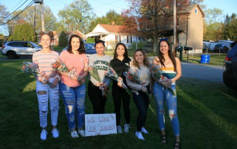 Lacrosse Seniors are Celebrated