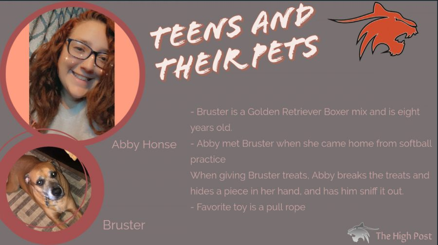 Teens and Their Pets - Abby Honse