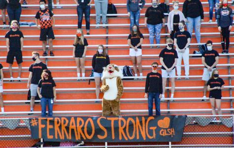 Forever #FerraroStrong presses into the hearts of faculty and staff of GLSH.