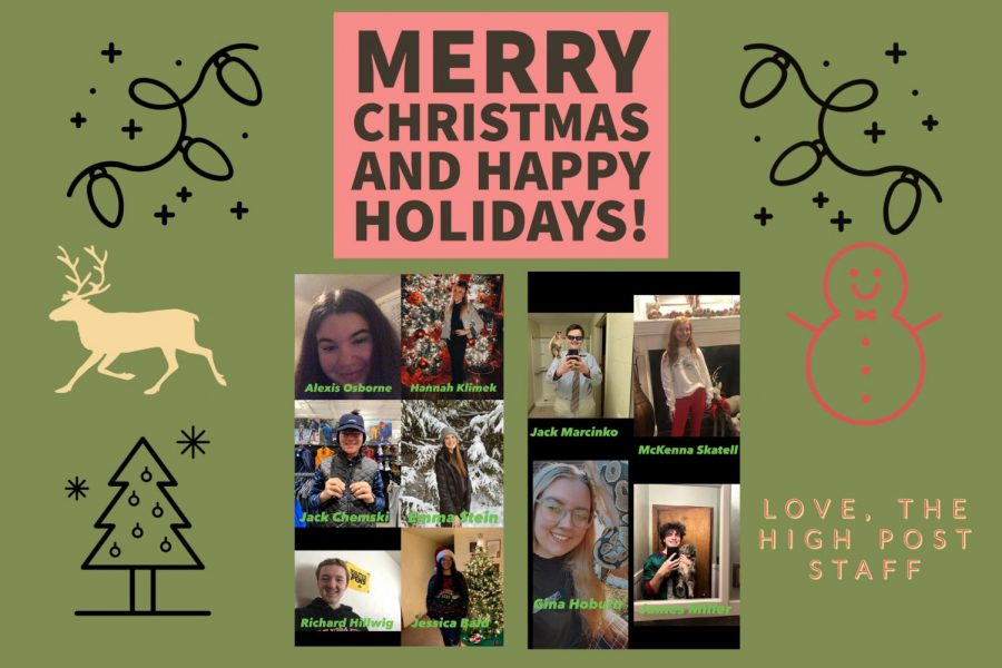 Merry Christmas From The High Post Staff!