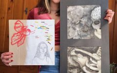 Shelby Robertson, an aspiring artist with roots at GLSD