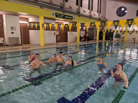 Swimmers Adapting to More than Expected Change