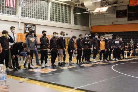 Wildcat Wrestling Pins Down A Win Against Crosstown Rivals With Strength And Talent