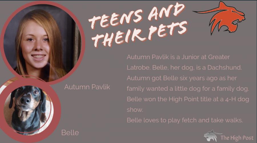 Teens and Their Pets - Autumn Pavlik