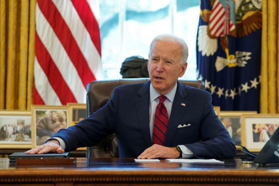 President Biden speaks before signing executive order on healthcare, January 28, 2021