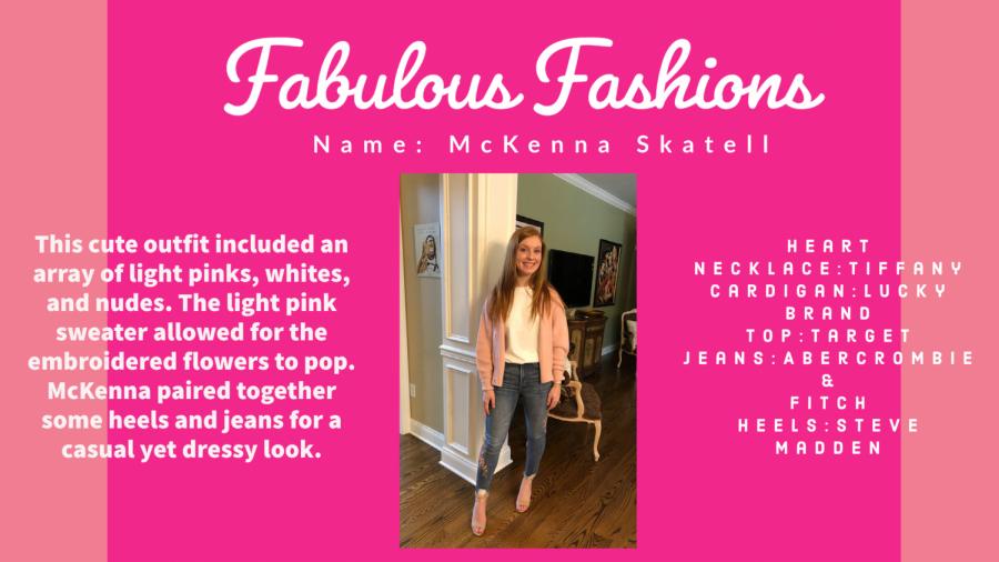 Fabulous Fashions - McKenna Skatell
