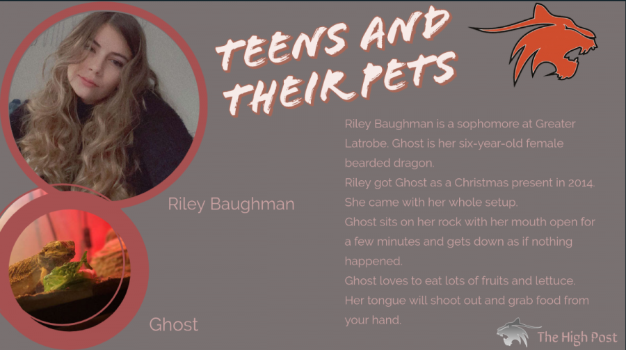 Teens and Their Pets - Riley Baughman