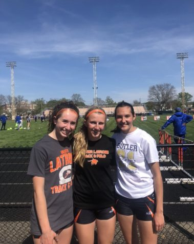 Girls Distance Runners Begin Freshman Track Career with Flying Colors