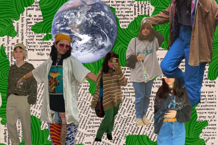 Outfits styled by Wesley Jividen, Jadyn Borbonus, Halie Nicholson, and Abi Dominick.